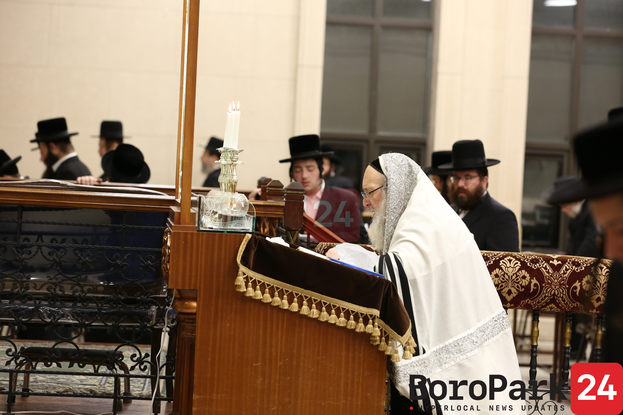 Rebbes and Rabbanim of Boro Park Recite the First Selichos - Part 2