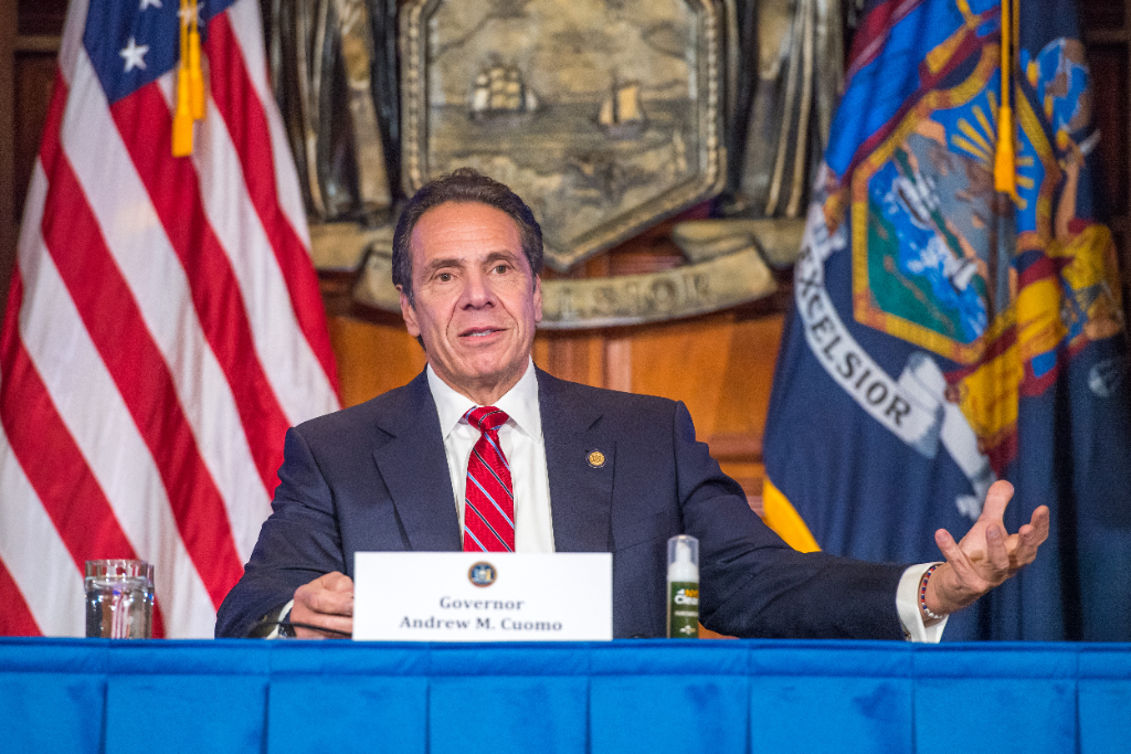 Cuomo Warns New Yorkers that Increased Travelling and Gathering Could Make a COVID Spike Imminent