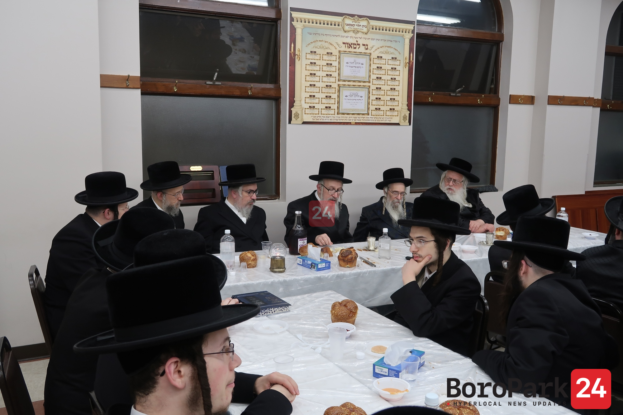 "Yurtzeit of the Bnei Sheleishim of Koson Zy""u"