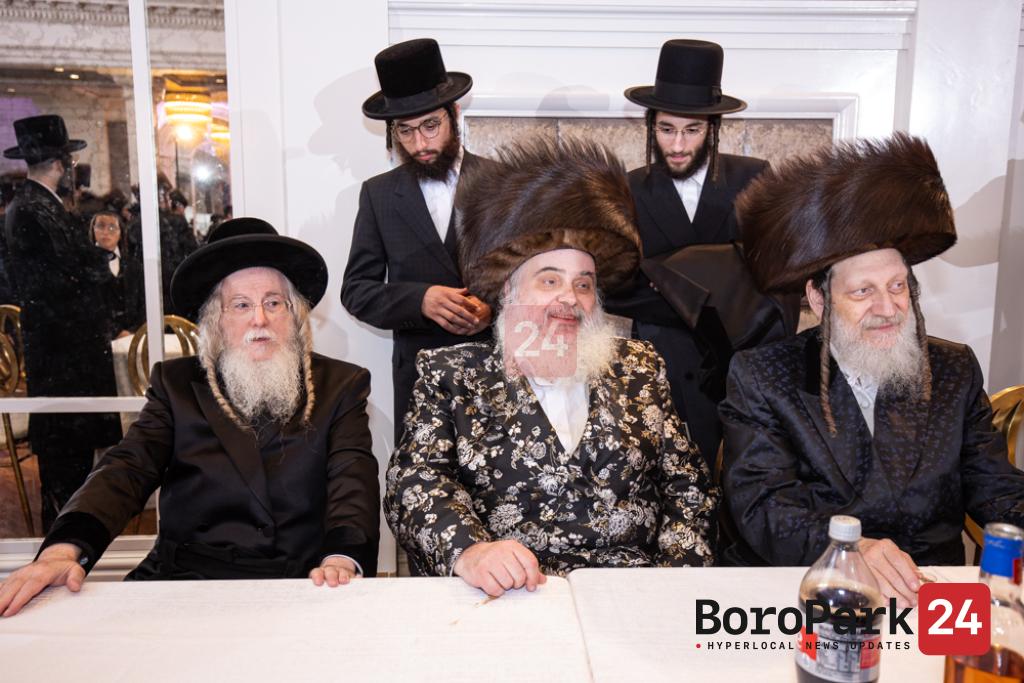 Wedding for son of the Botashan Rebbe