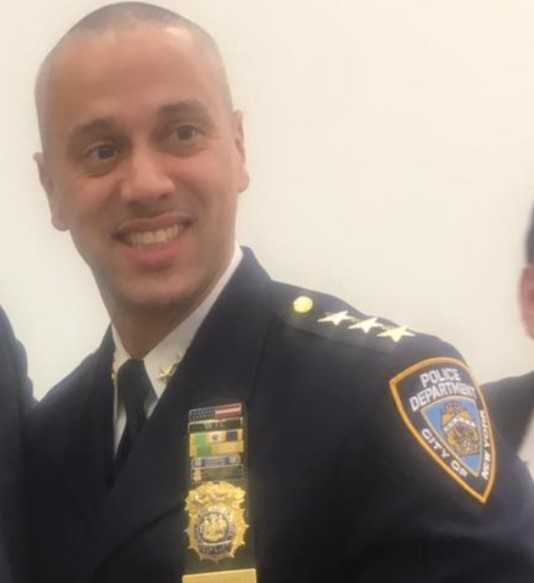 NYPD Chief of Patrol Fausto Pichardo Suddenly Resigns