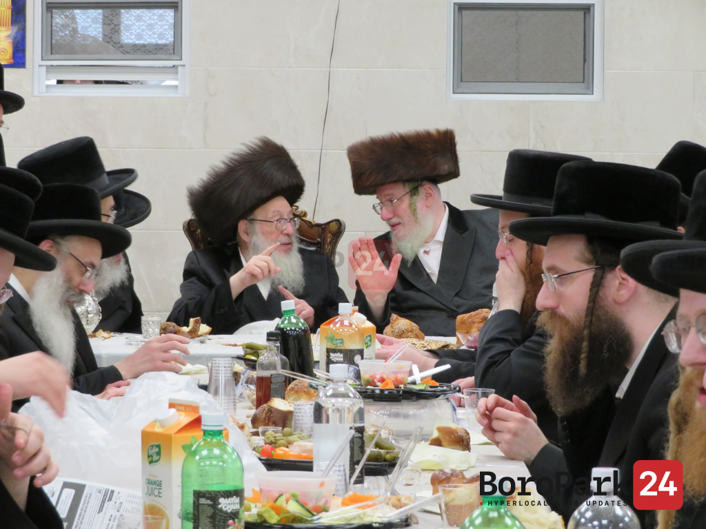 Vach Nacht and Bris for Grandson of the Spinka Rebbe