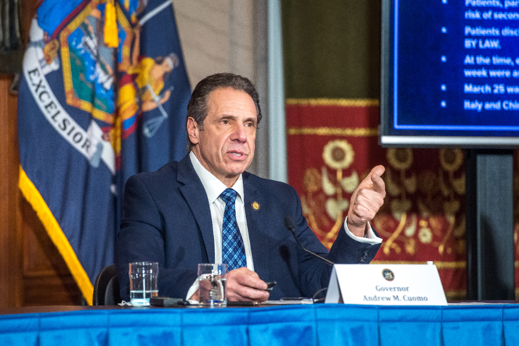 Cuomo Drops Sharply in Polls After Nursing Home Scandals