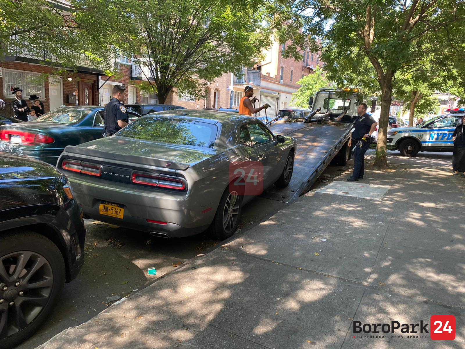Stolen Car Found and Under Investigation
