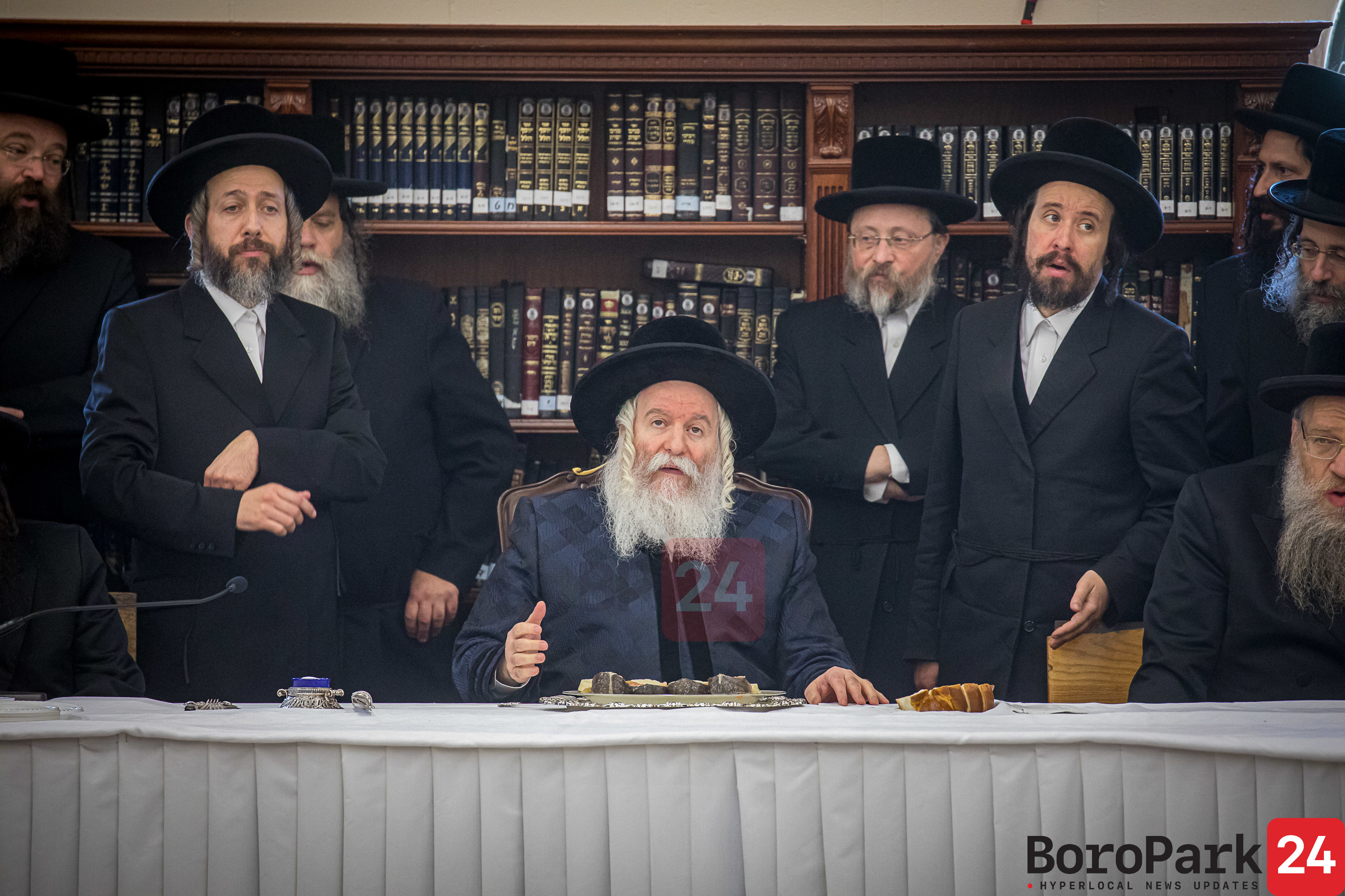 Rosh Choidesh Elul in Bobov