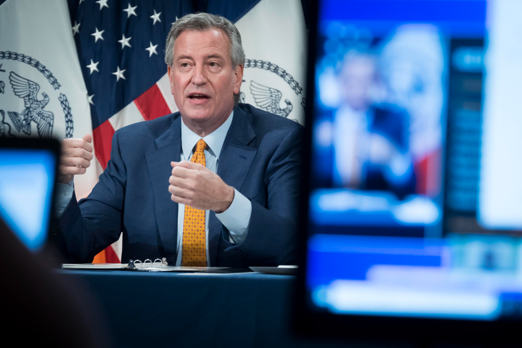 """Mayor de Blasio Wishes Jewish Community, """"Easy and Meaningful Fasts"""""""