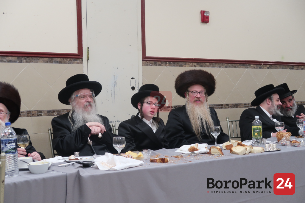Bar Mitzvah for son of Bluzhev Ribatitch Rebbe