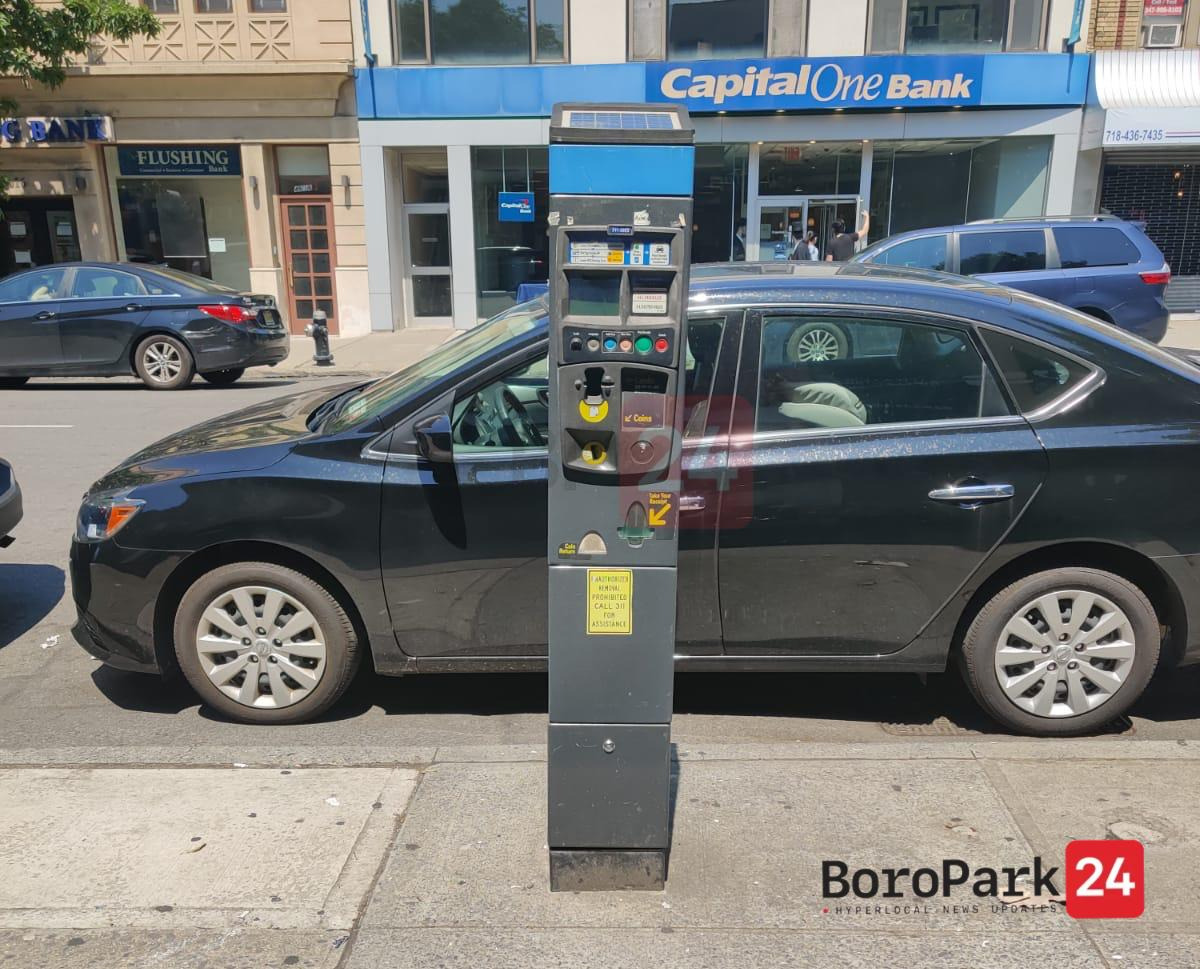 Parking Meters Transferring From One to 2 Hours