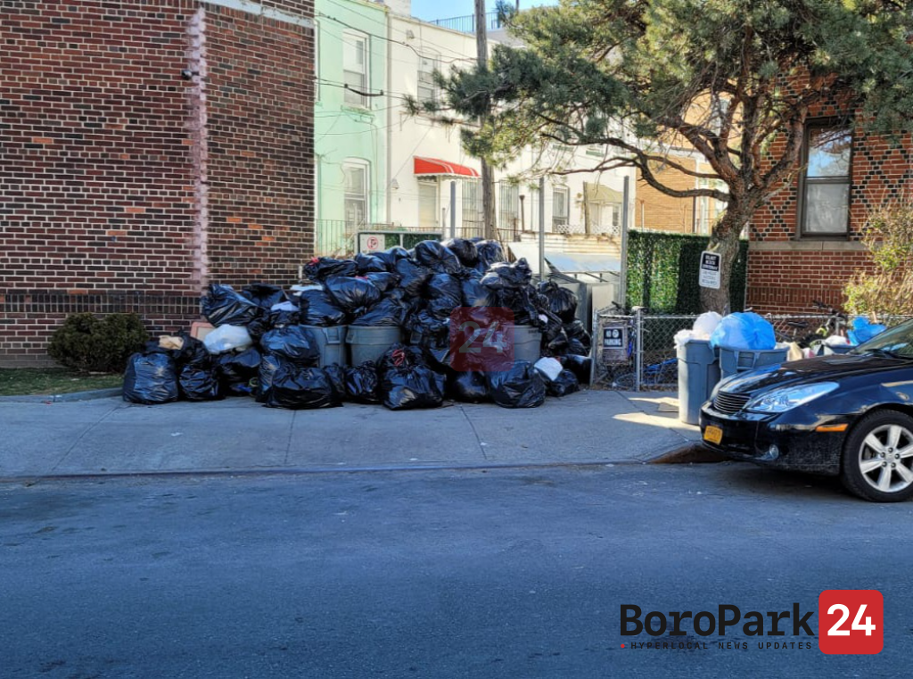 "DSNY Blames Lack of Garbage Pick-Up on ""COVID and Snow"""