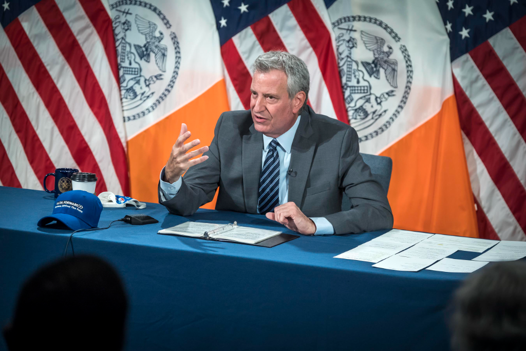 NYC to Provide Vaccinations to Students 12 to 17, de Blasio Says