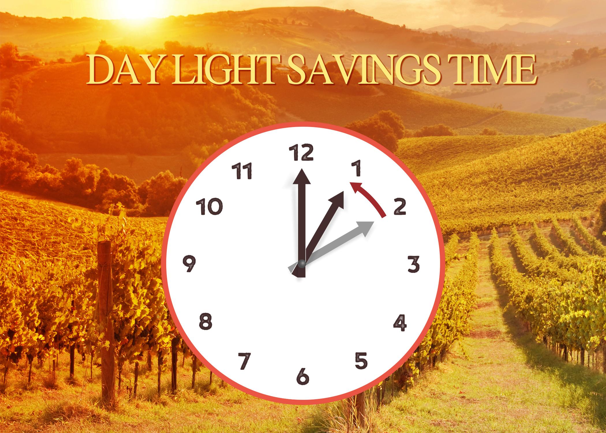 Daylight Savings Time Ends at 2am Motzei Shabbos