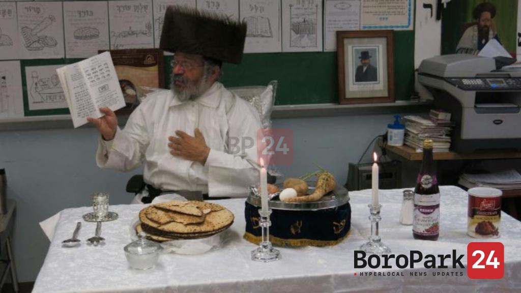 Pesach Seider with the Nikolsburg Rebbe