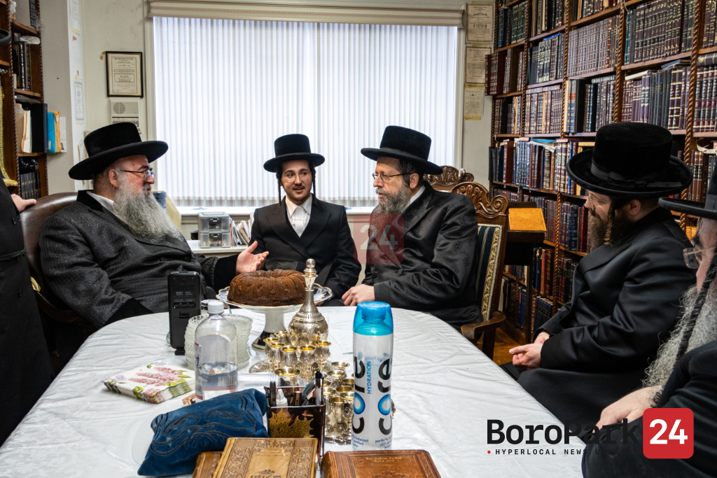 Vort for Grandson of the Skolya Rebbe with daughter of the Ilinov Rov