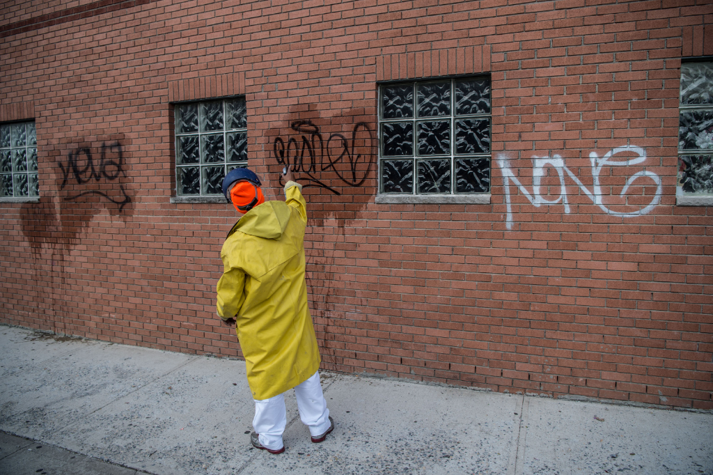 NYPD Launches Graffiti Clean-Up Campaign to Start in the Spring