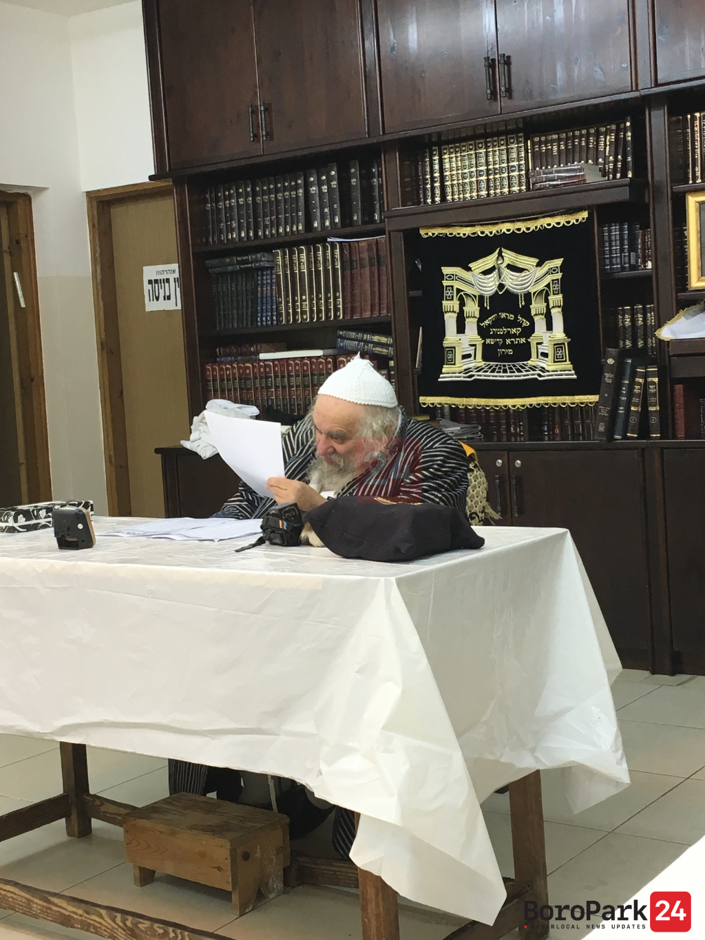 """Photo Gallery: the Life of a Torah Giant and Posek Hador, Rav Chaskel Roth Zt""""l"""