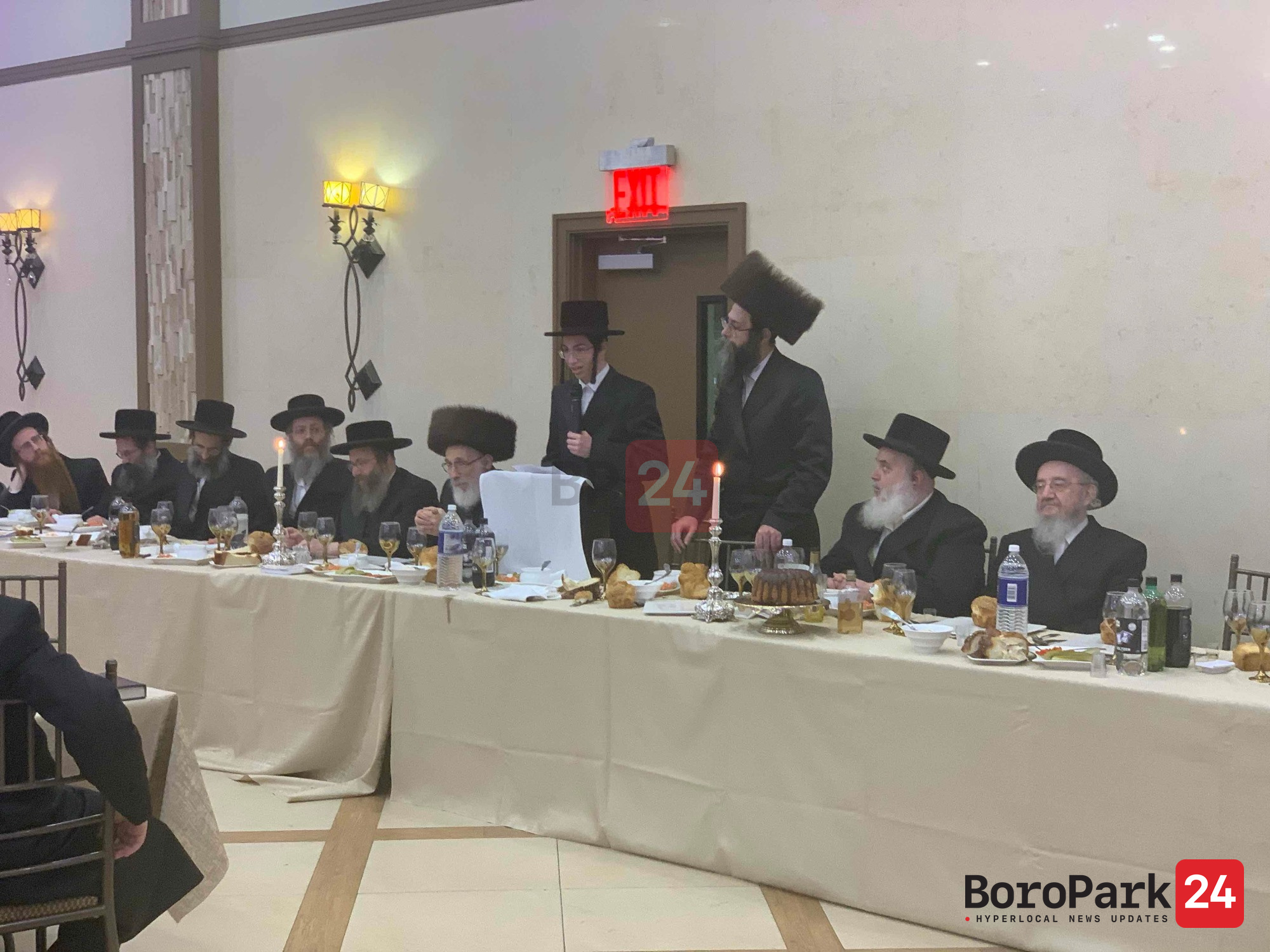 Bar Mitzvah in courts of Kehilas Yakov Pupa Boro Park – Reshis Chochma – Seagate