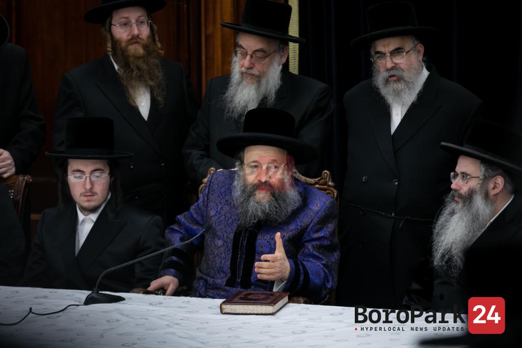 Vort for Grandson of the Bobov-45 Rebbe