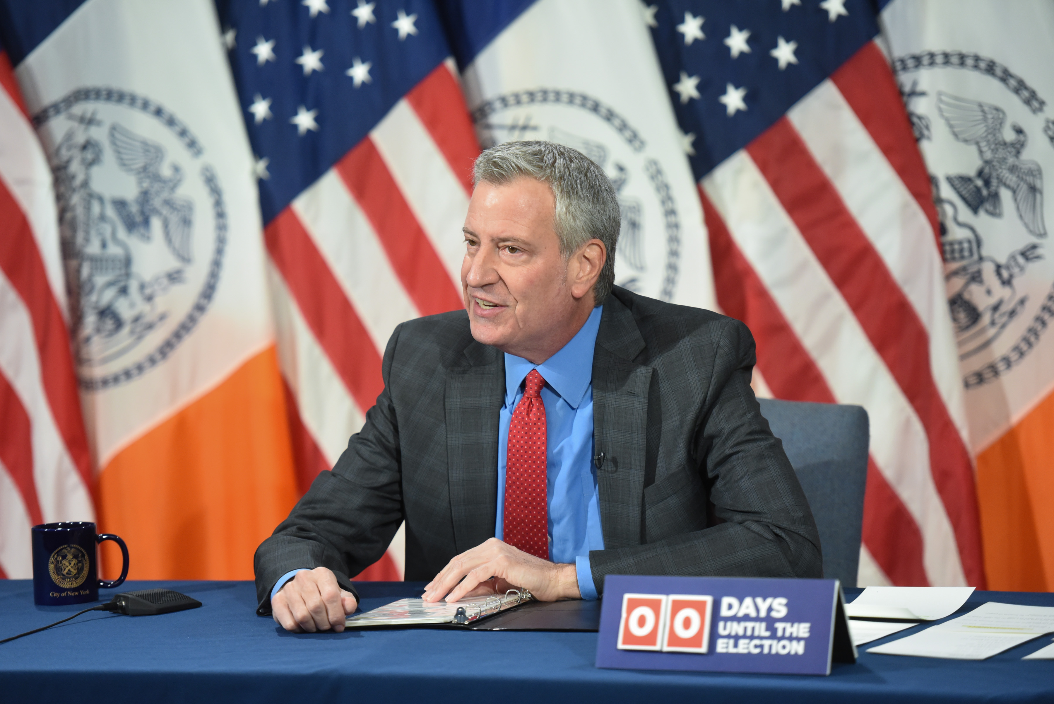 Mayor de Blasio Continues to Characterize All Protests as Peaceful, Despite Evidence to the Contrary