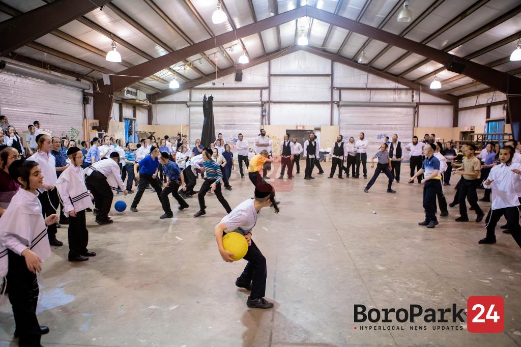 A visit at Camp Shalva Bobov