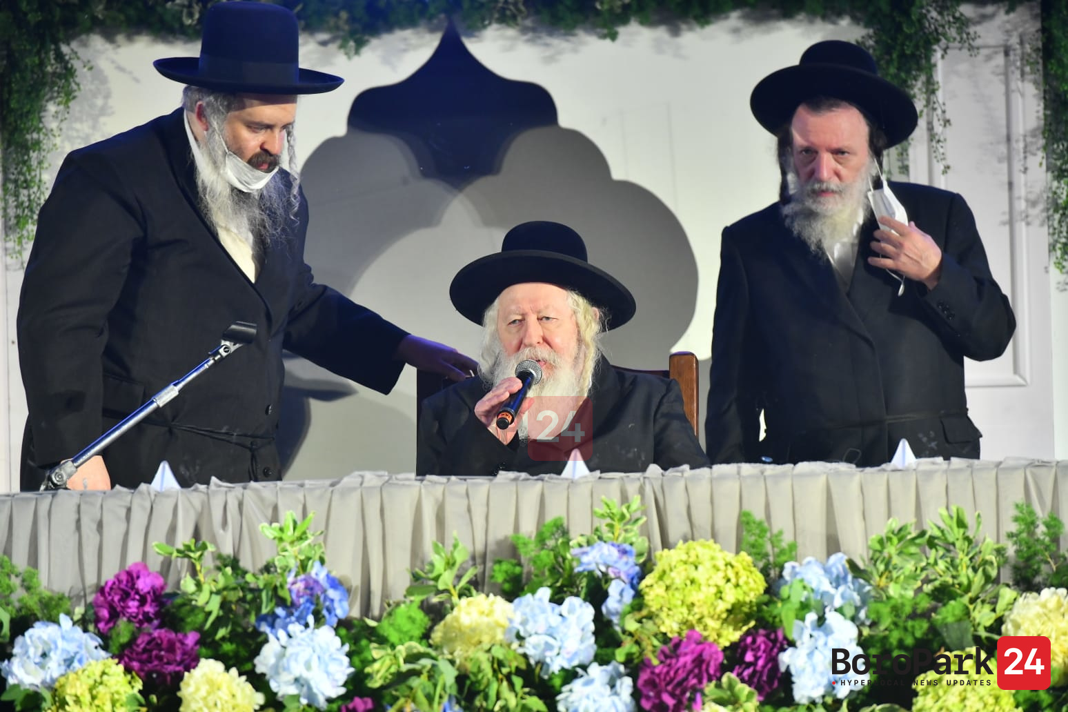 Gerrer Rebbe asked his Chasidim to make a Kiddush Hashem and protect their health.