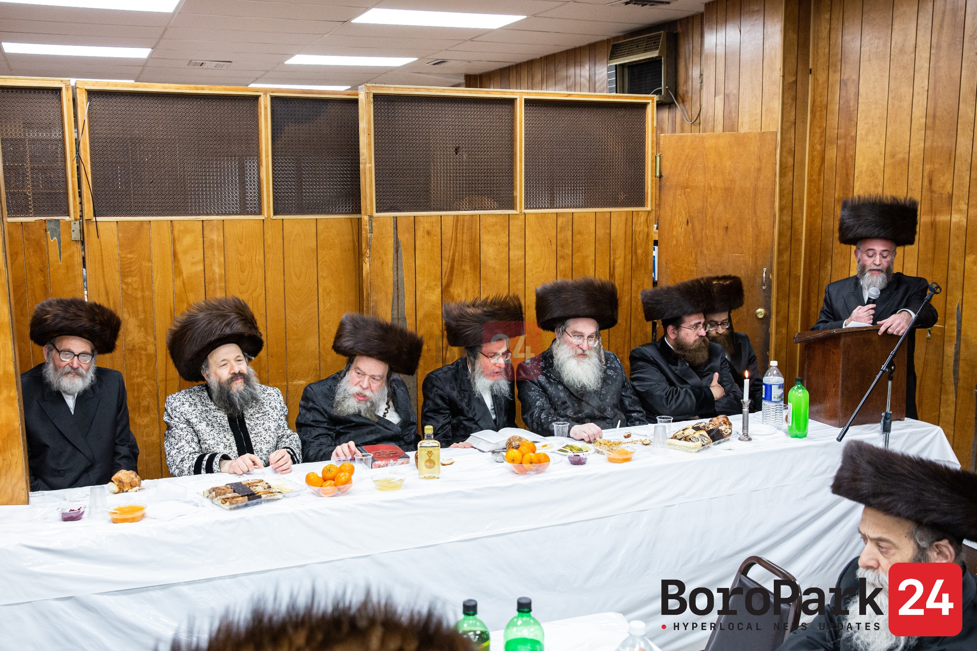 Melavah Malke for the Beis Medresh Beis Yosef Dombrova in Boro Park