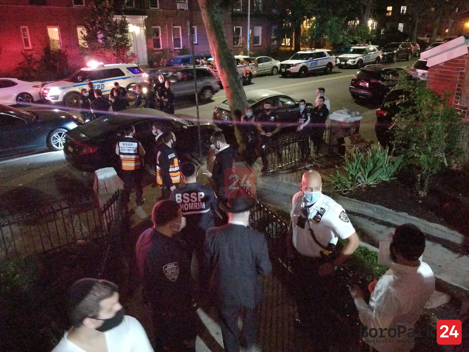 Shots Fired Outside A Shul on 18th Ave