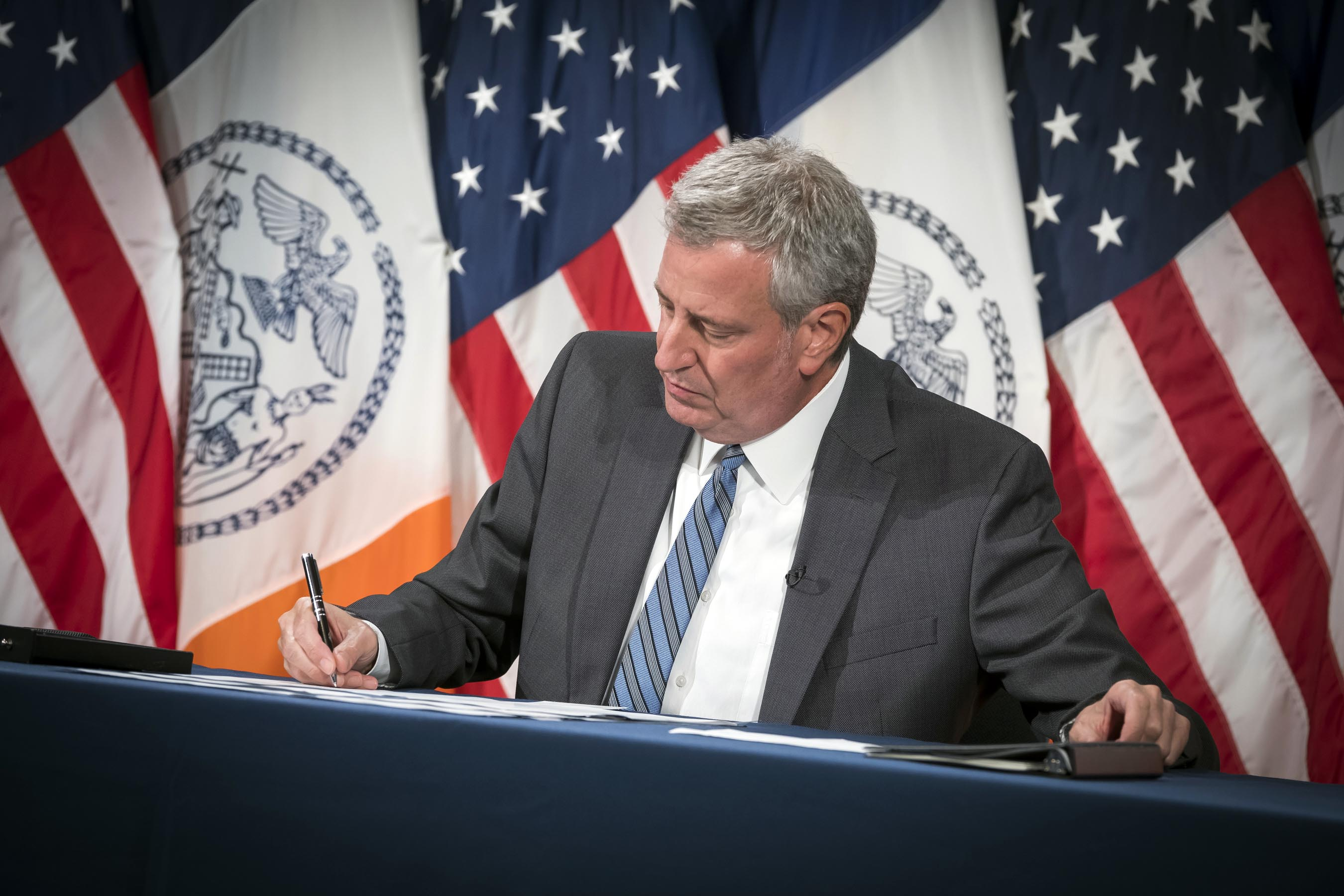 Mayor De Blasio Sounds Optimistic about Brooklyn Exiting the Red Zones Very Soon