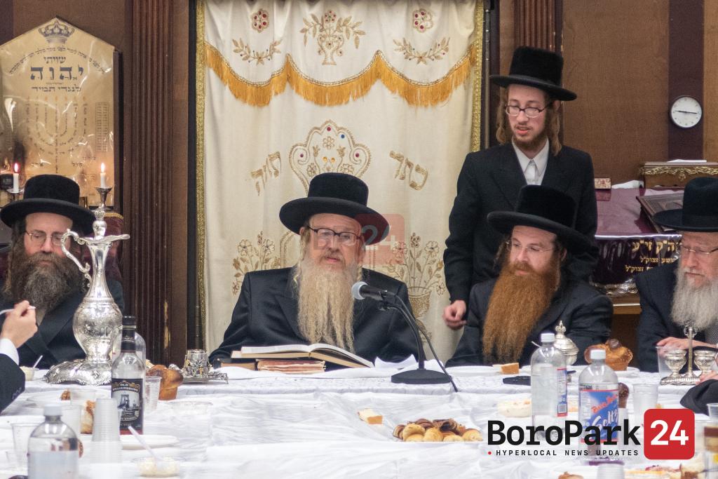 """Yurtzeit of the Bluzhev Rebbe Zy""""u by his Grandson the Bluzhev Ribatitch Rebbe"""