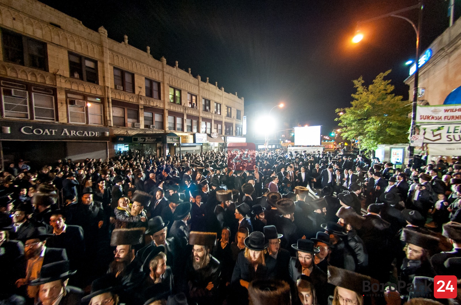 13th Ave. Simchas Beis Hashoeiva Canceled This Chol Hamoed