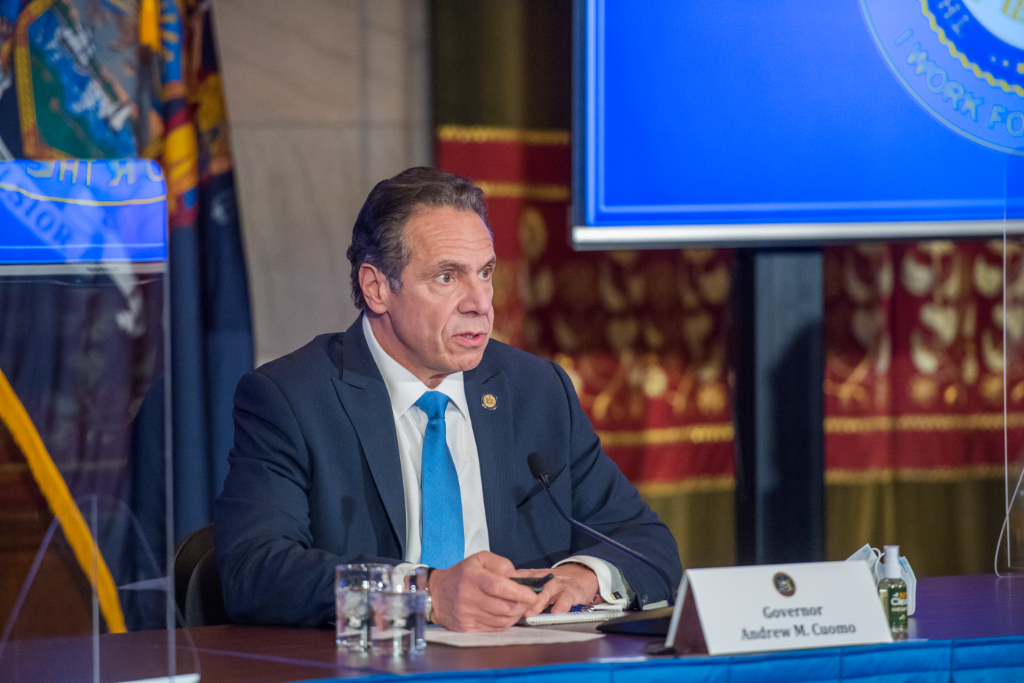 Gov. Cuomo Said He Will Wait to get Vaccinated along with All Others in his Age Group