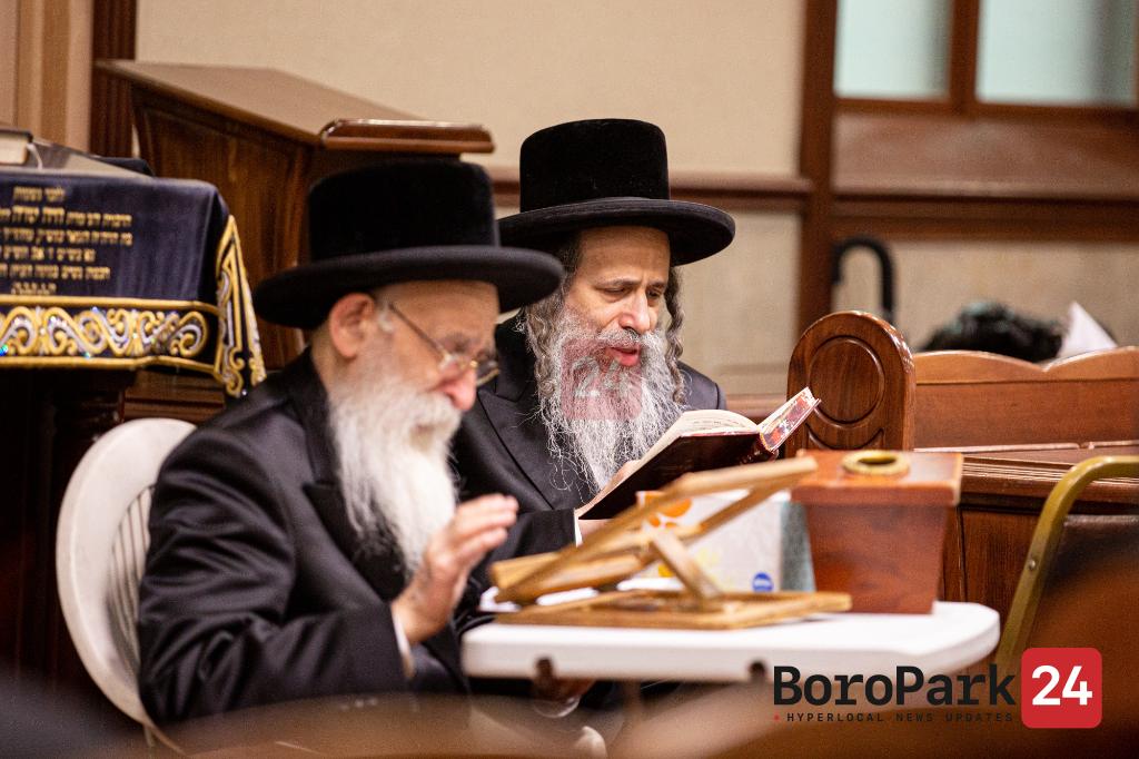 Tisha B'Av by Rebbes and Rabonim in Boro Park - Part 2