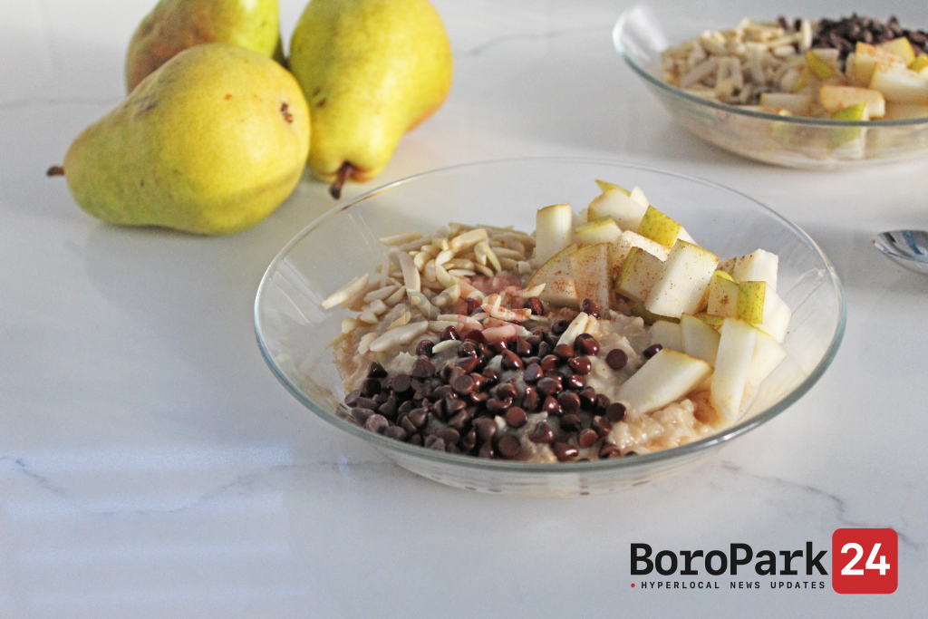 Culinary Corner: Hot Oatmeal with Pears & Chocolate Chips