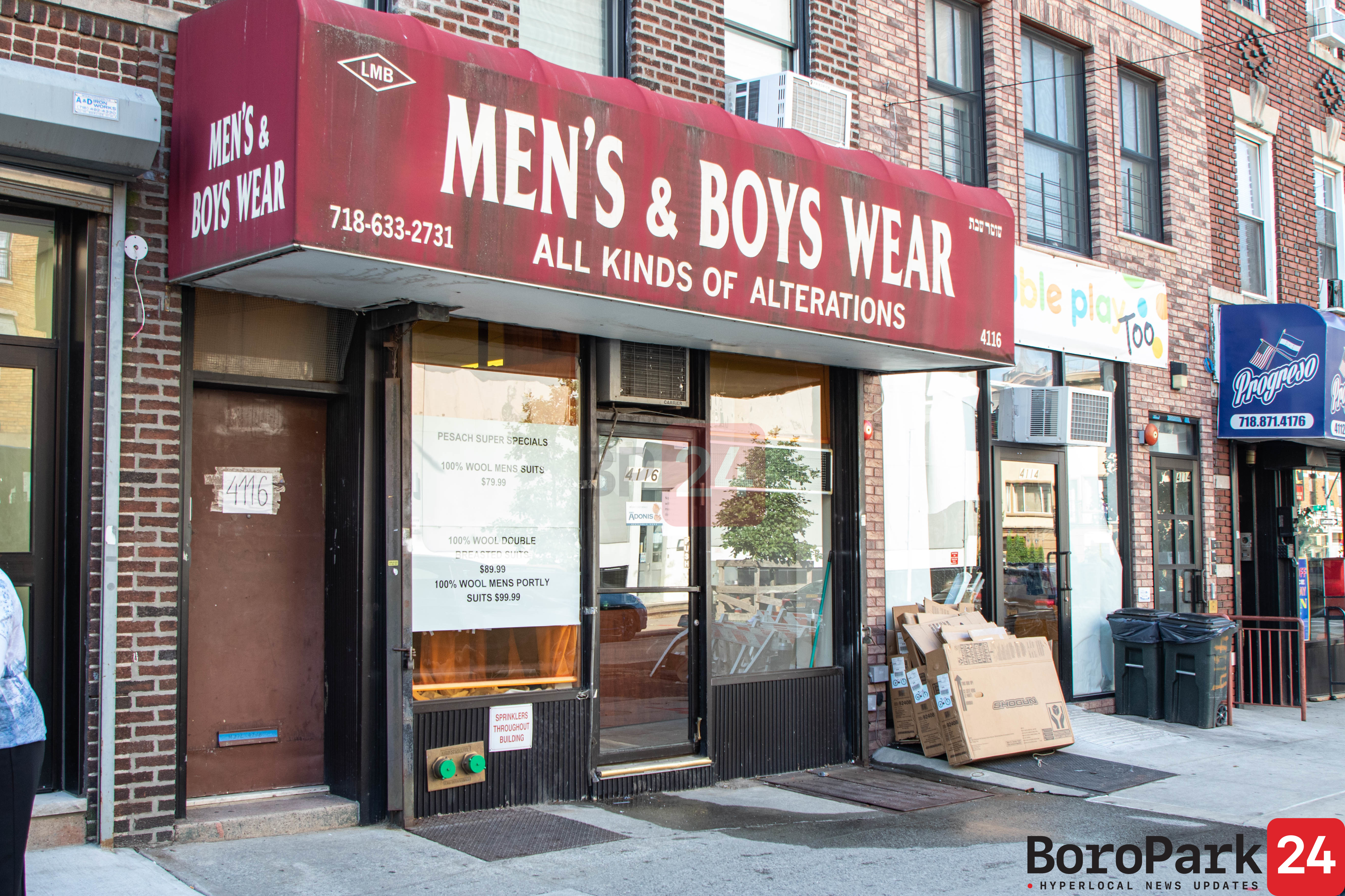 Boro Park Snapshot: LMB Tailoring