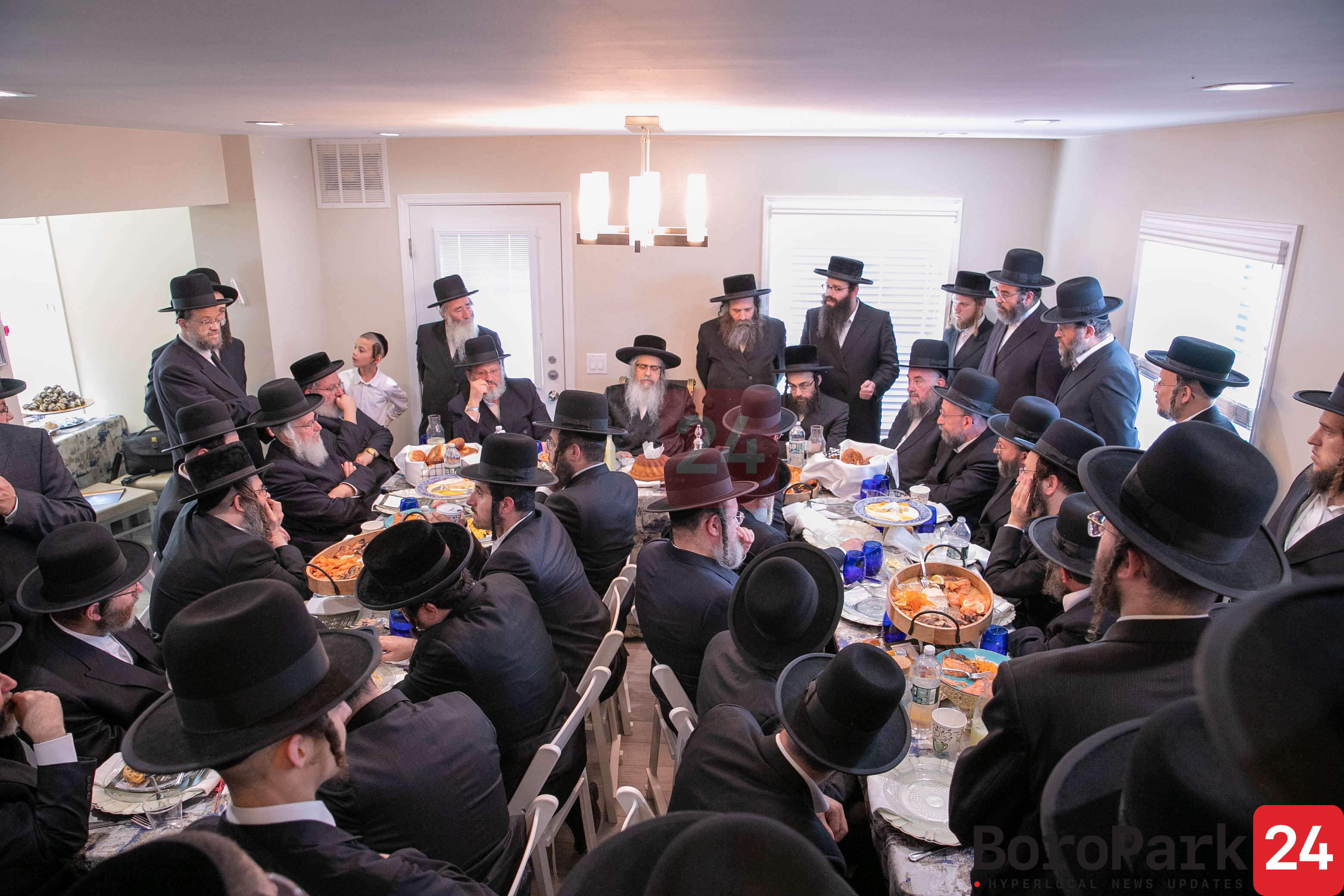 Mesibah in Loch Sheldrake for Mosdos Satmar in Lakewood