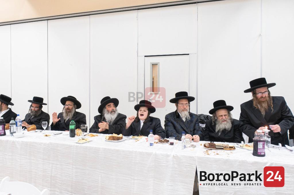 Bar Mitzvah for Grandson of the Zidetchov Beier Sheva Rebbe