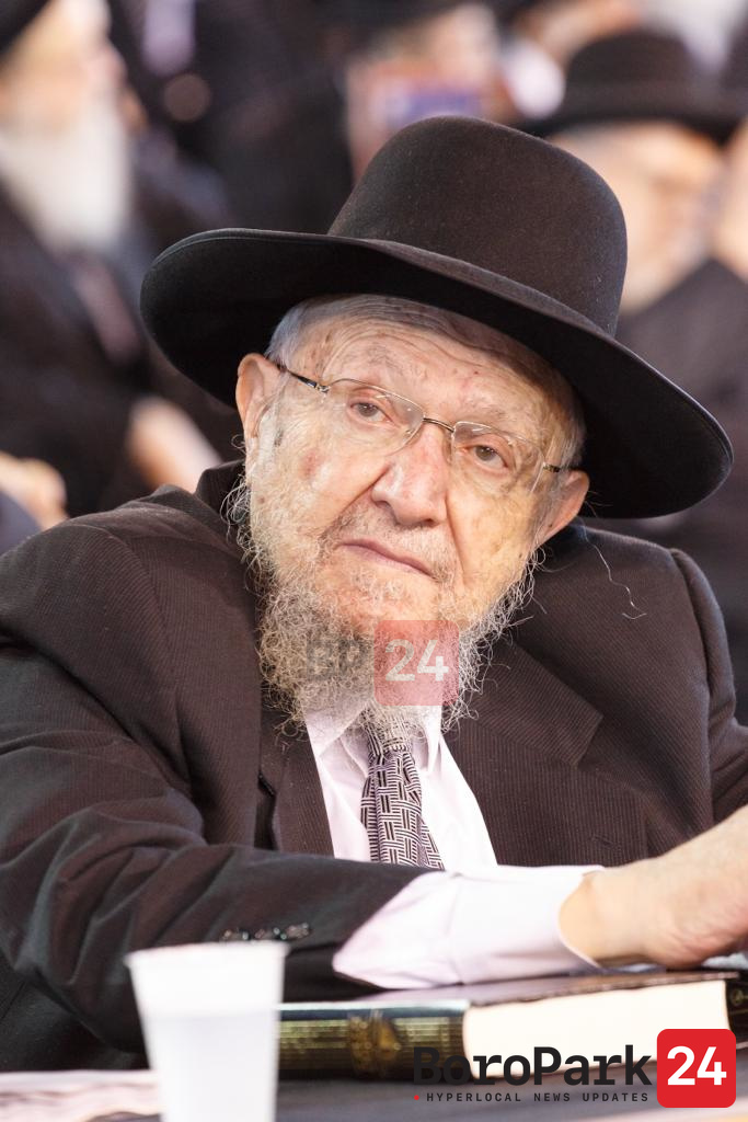 "Levaya of Hagoan Rav Dovid Feinstein Zt""l"