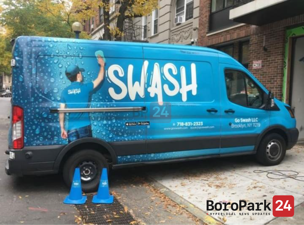 """Boro Park Snapshot: Beyond the Tires: Getting """"SWASHED"""""""
