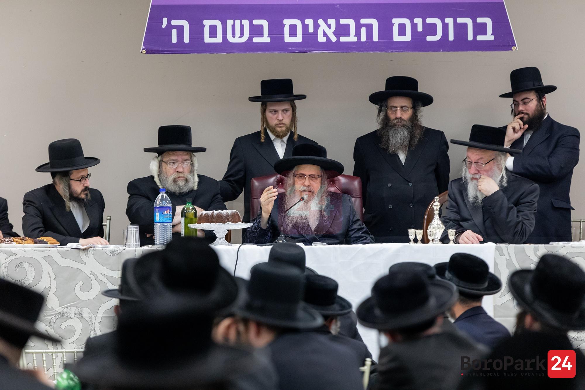 Dinner for Kolel Shomrei Hachomas - Tzedukas Rabbi Meir Bal Hanes in Kiryas Yetev Lev Bloomingburg