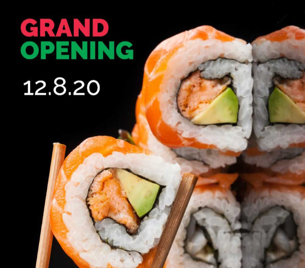 Weissabi A New Sushi Bar On 20th Ave Holds Its Grand Opening On Tuesday Boro Park 24 It was built next to city wok, much to the jealousy of tuong lu kim. weissabi a new sushi bar on 20th ave