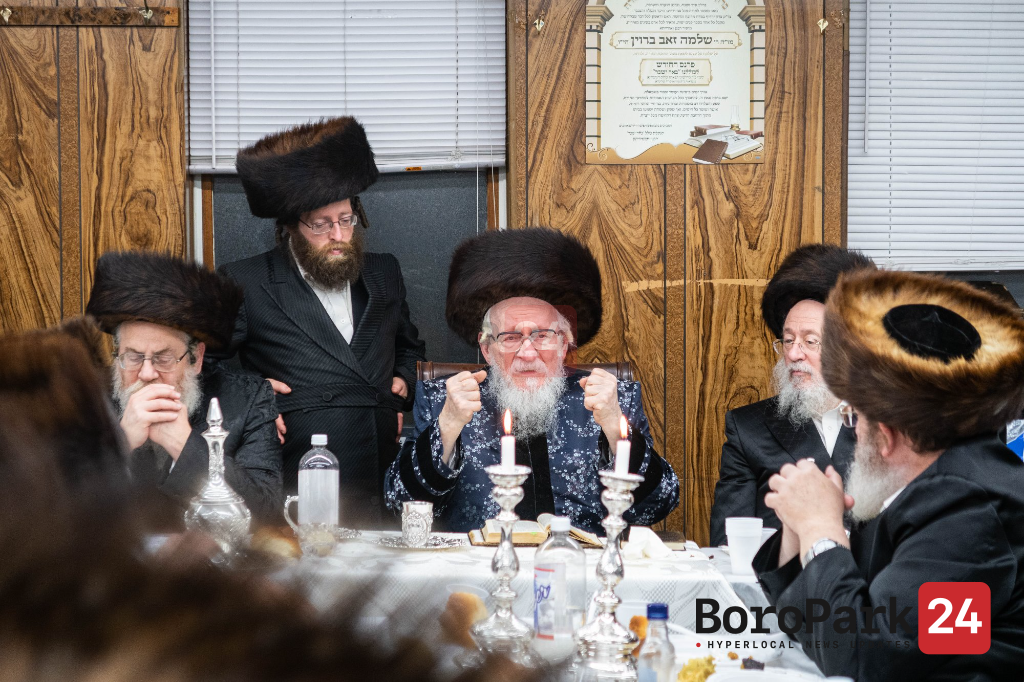 "Yurtzeit of Rabbi Shulem of Nadvorna Zy""u by the Nadvorna Rebbe"