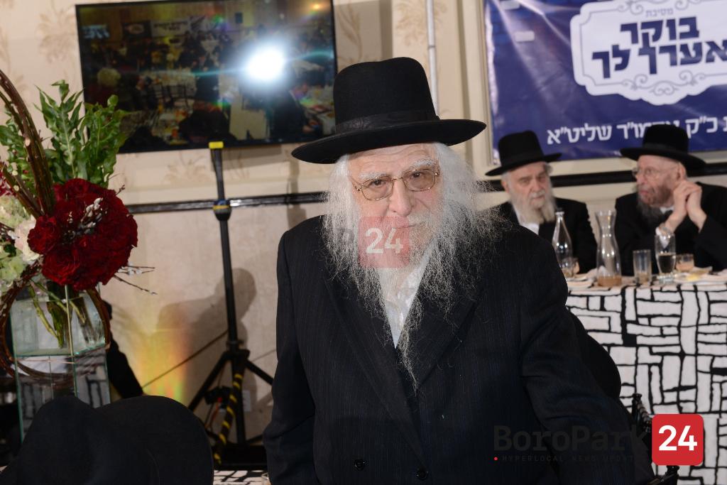 """BDE: Reb Eliezer Levi, z""""l."""