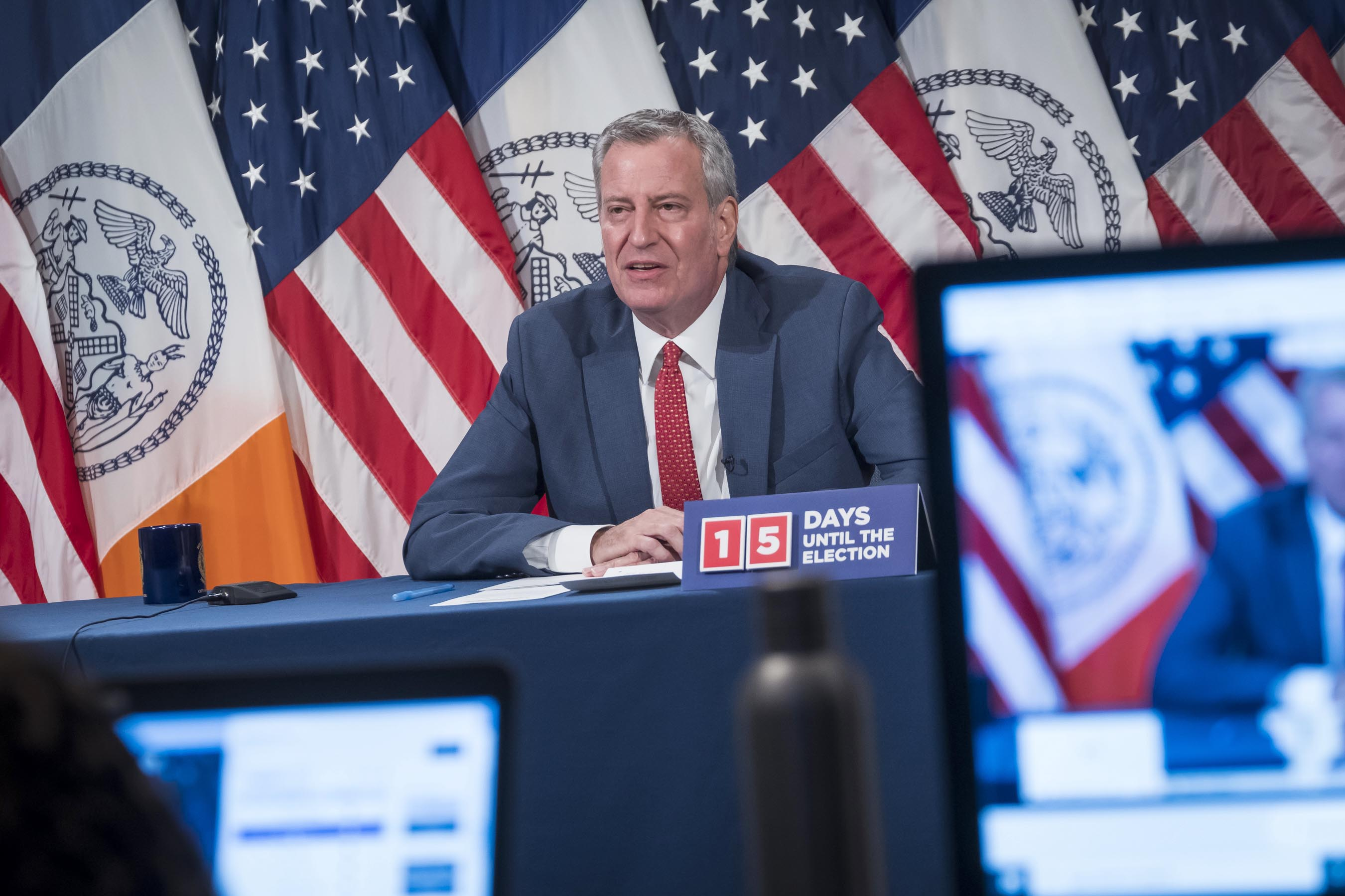 SCOOP: Mayor de Blasio meets with Jewish Community Leaders, who Recommend Increased Testing to Lower Positivity Rates