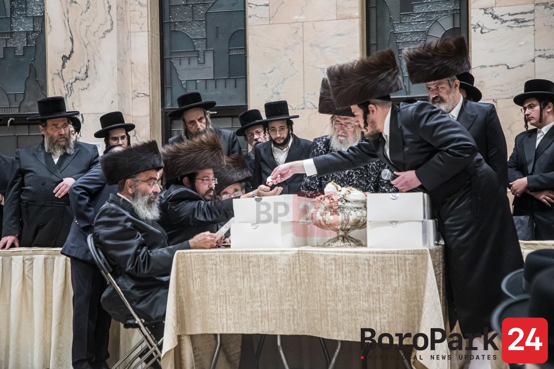 Pidyon Haben for a Great Grandson of the Minkatch Rebbe
