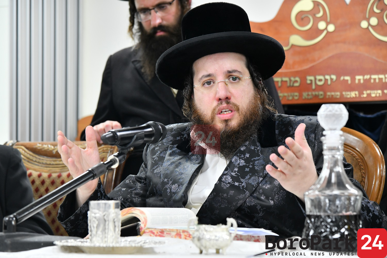 """Yurtzeit of The Shomrei Emunim Rebbe Zy""""u By His Grandson The Shomrei Emunim Rosh Yeshiva"""