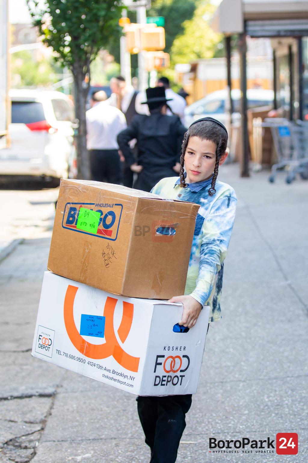 Photo Gallery: Children Prepare to Head Upstate for Summer 2021 - Part 2