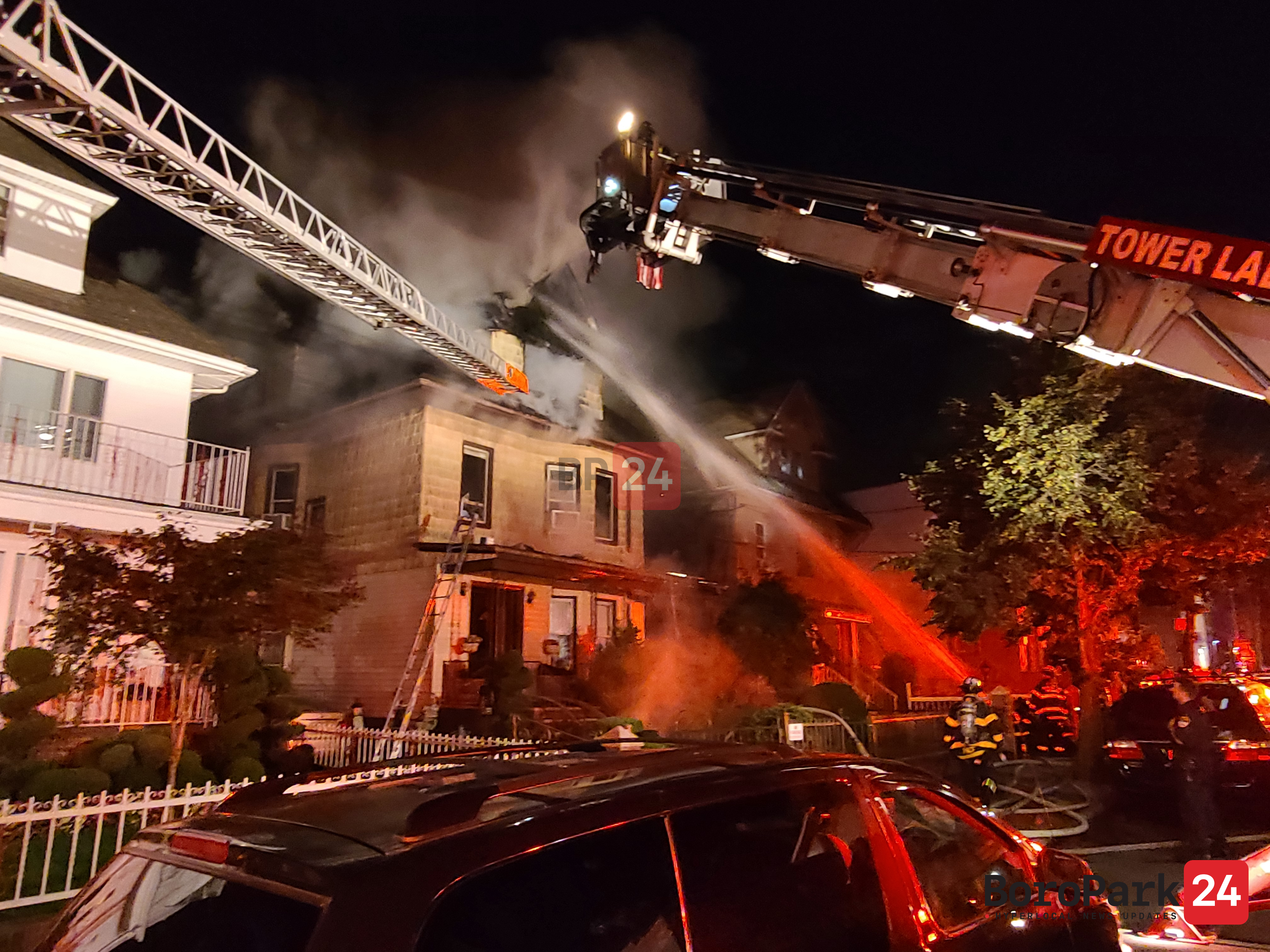 Dyker Heights Fire Contained after Three and a Half Harrowing Hours