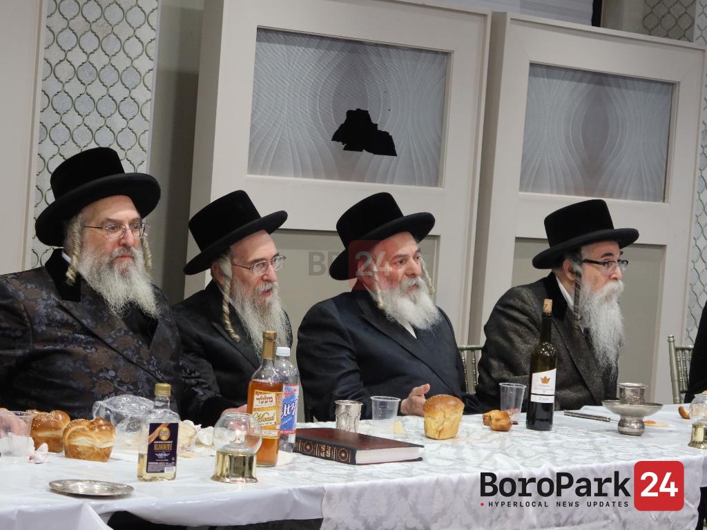 """Yurtzeit Seudah of The Ohr Molei of Koson Zy""""u by the Koson Rebbe"""