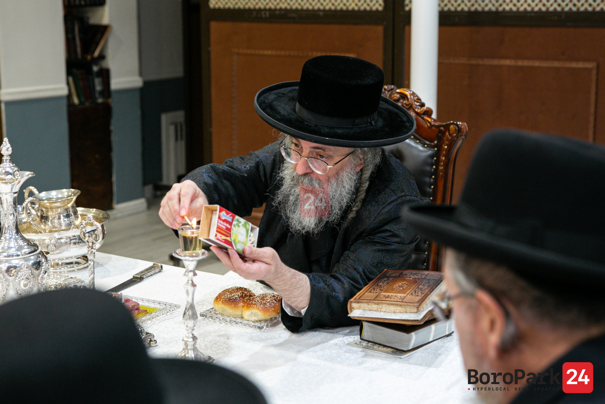"Yurtzeit Of Reb David Tzvi Shlomo Of Lelov Zy""u By The Lelov Rebbe"