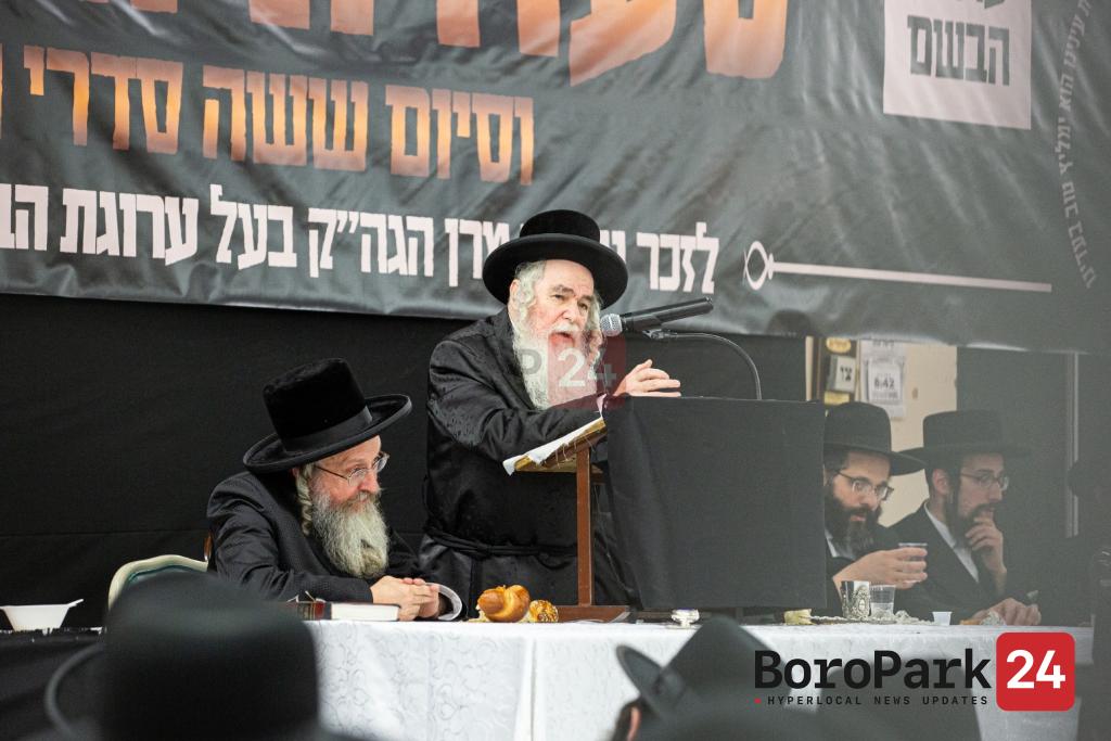 "Yurtzeit of the Arugas Habosem Zy""u by the Tzehlim Rov in Camp Arugas Habosem Tzehlim"