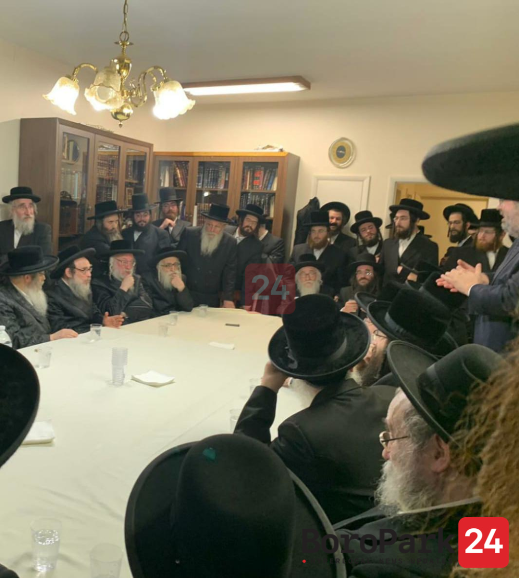 23 Rebbes Meet to Strategize, B'achdus, Their Next Step in Responding to DOE's Inquiries